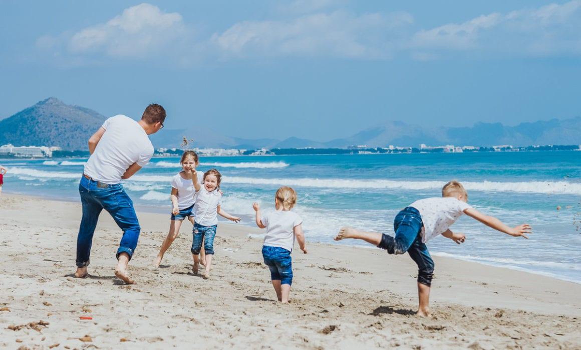 Familienshooting an der Playa de Muro
