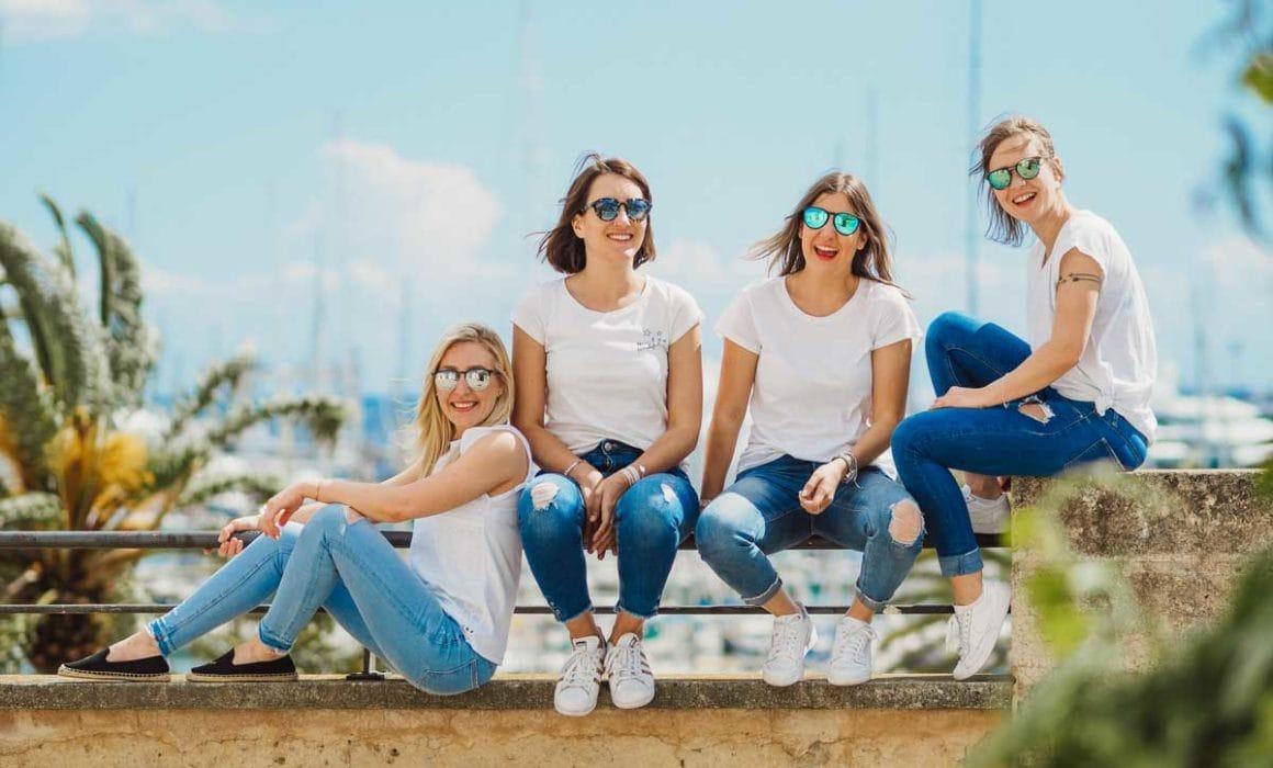 Freundinnen-Fotoshooting in Palma de Mallorca
