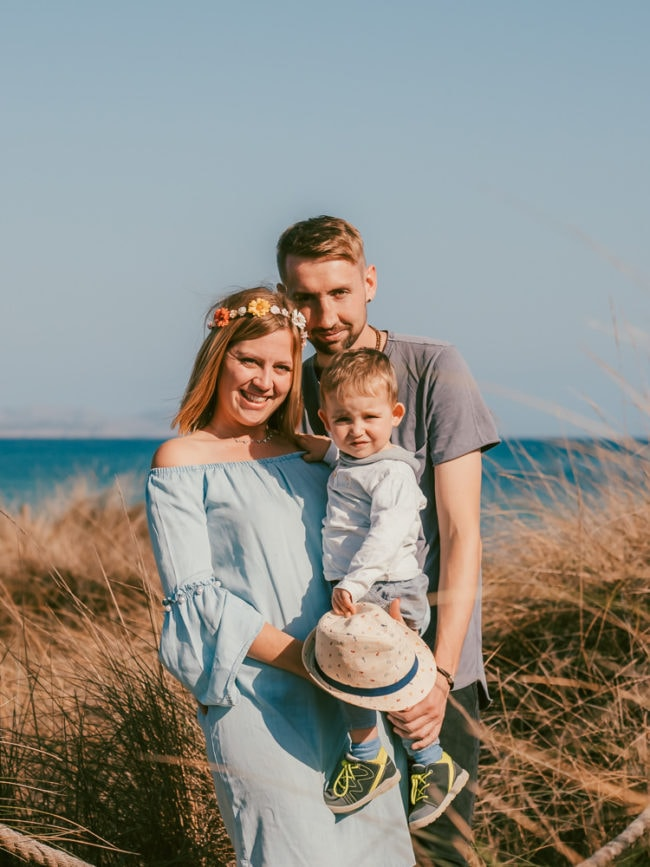 familienshooting mallorca strand meer 17