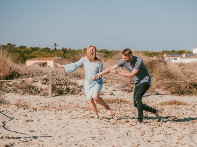 familienshooting mallorca strand meer 19