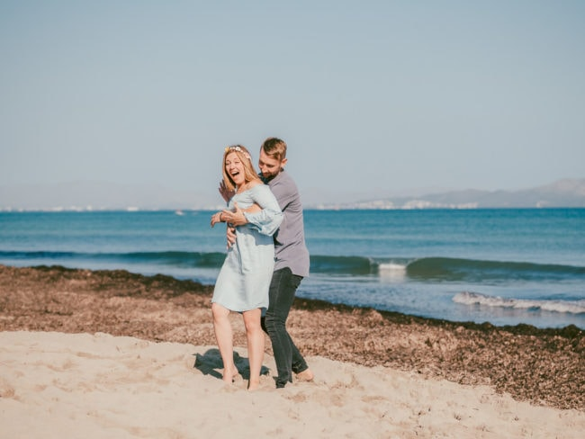 familienshooting mallorca strand meer 21