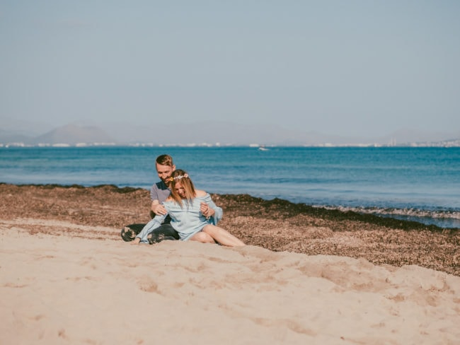 familienshooting mallorca strand meer 22