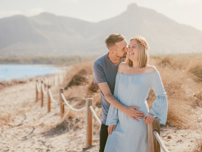 familienshooting mallorca strand meer 34