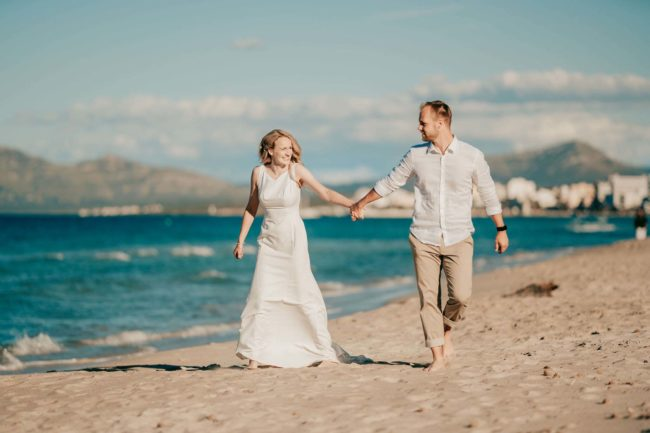 Hochzeitsfotos Strand Mallorca Shooting 11