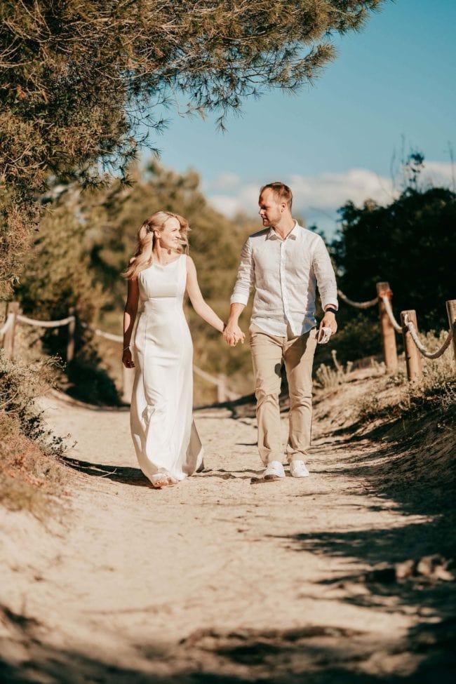 Hochzeitsfotos Strand Mallorca Shooting 4