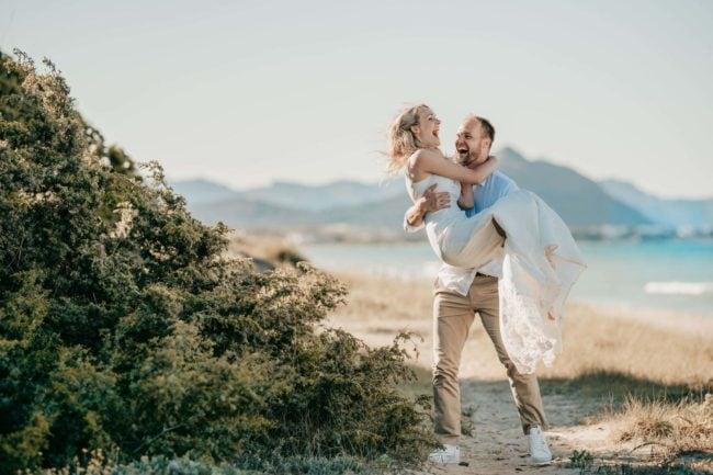 Hochzeitsfotos Strand Mallorca Shooting 7