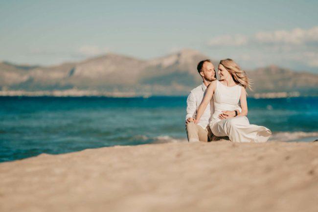 Hochzeitsfotos Strand Mallorca Shooting 8